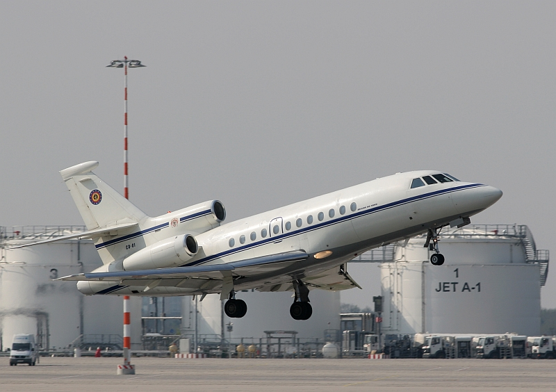 VIP Tranport: Falcon 900B CD-01 Belgian Air Force