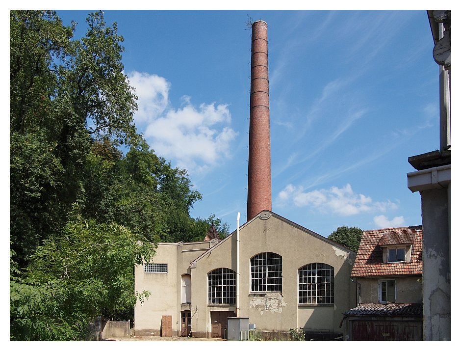 Alte Fabrik in Bad Urach