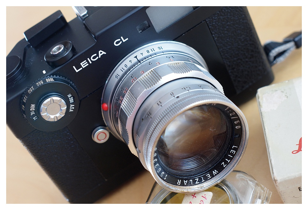 Leica Cl mit Summicron-M rigid 2,0 50mm